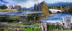 Royal Deeside, with the Braemar 'gathering' (Highland games) Balmoral Castle, and stunning estates is Scotland at its most majestic
