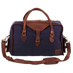 Our Canvas and Leather Weekender is lovingly made to order with beautifully soft…