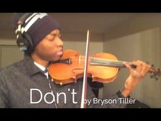 Bryson Tiller - Don't (Violin by Eric Stanley) - YouTube