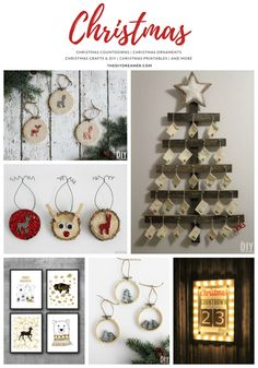 A collection of Christmas projects: Christmas countdowns, ornaments, crafts, DIY, printables and more. Christmas Food Gifts, Christmas Countdown, Christmas Traditions, All Things Christmas, Christmas Holidays, Christmas Decorations, Christmas Ornaments, Winter Holiday, Xmas Crafts