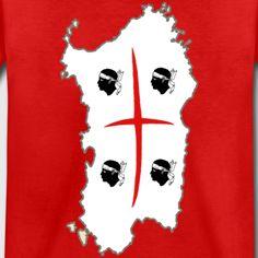 Maglietta SARDEGNA 4MORI unisex per bambini - Maglietta Premium per bambini
