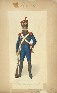 French; Soldier of the Engineers 1812