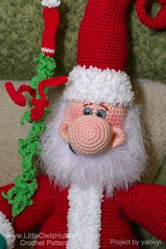 Crochet Pattern Our Father : 1000+ images about Santa Claus, Father Christmas, Father ...