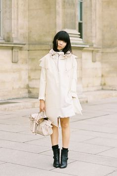 Susie Bubble off white outfit
