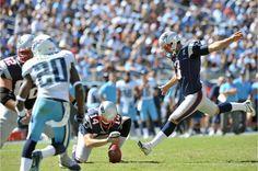 NE v TEN 09-09-12 ~ Great respect for one of the best kickers in the NFL, Stephen Gostkowski