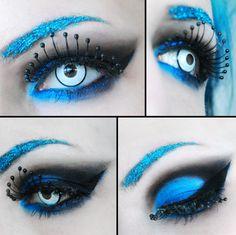 This is awesome. I want those eyelashes