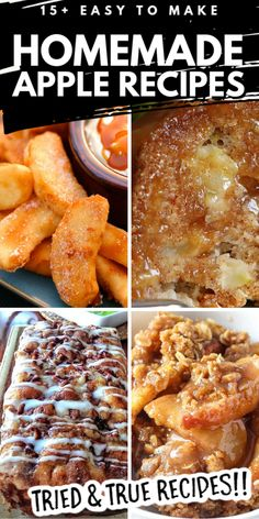 These Best Baked Apple Desserts are the perfect fall dessert to make for all of your holiday celebrations With simple ingredients and delicious flavors your friends and family are sure to ask for your recipe Healthy Apple Desserts, Baked Apple Dessert, Apple Deserts, Apple Dessert Recipes, Fruit Recipes, Apple Recipes, Desert Recipes, Easy Desserts, Sweet Recipes