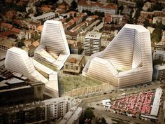 Badel Block Complex Proposal / Popular Architecture | ArchDaily