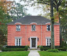 We love the luxe look of this gorgeous brick home: http://www.bhg.com/home-improvement/exteriors/curb-appeal/entryway-designs/?socsrc=bhgpin100114brickhome&page=3