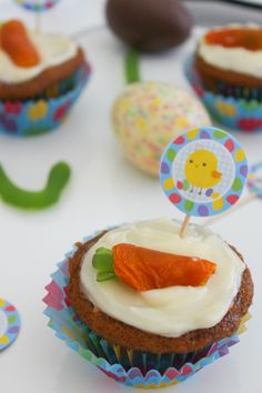 The Easter Bunny's Carrot Cupcakes! | That Girl Cate