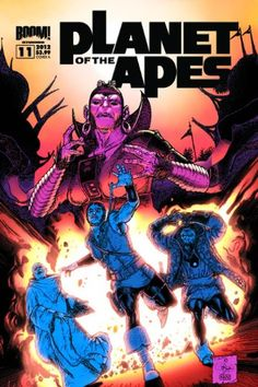 Planet of the Apes #11 by Daryl Gregory