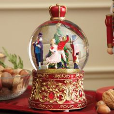 Nutcracker snow globe... I would love one of these.
