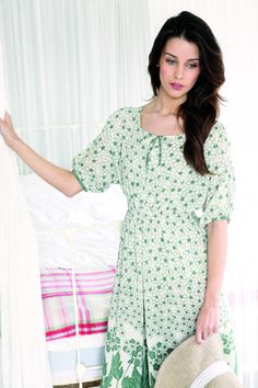free pattern - Biba-style Dress