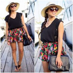 Floral cruising (by Daniela Ramirez) http://lookbook.nu/look/4065874-Floral-cruising