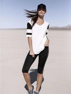 Olympia Activewear Corfu Oversized Tee #Fashercise #StylishlyFit