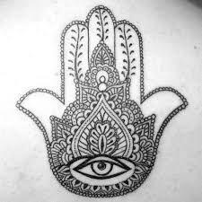 Bildergebnis für hamsa tattoo