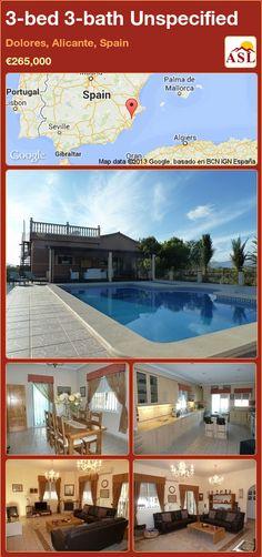 3-bed 3-bath Unspecified in Dolores, Alicante, Spain ►€265,000 #PropertyForSaleInSpain