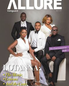 Welcome to Zeal live Blog: Celebrating Inspiring, Successful Journeys.: Cast of Lotanna Grace Cover of Vanguard Allure.