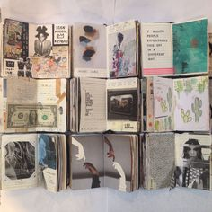 caitmceniff:  my journals from 2015 - I hope to continue journals for 2016!