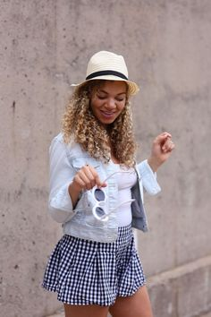 gingham shorts outfit | summer fashion | summer outfits | outfit ideas | fashion