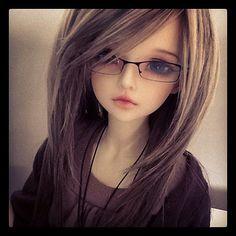 Doll that looks like me! I love BJD! Anime Dolls, Ooak Dolls, Blythe Dolls, Troll Dolls, Beautiful Barbie Dolls, Pretty Dolls, Cute Baby Dolls, Realistic Dolls, Smart Doll