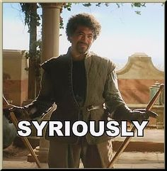 Game of Thrones- Syrio Forel 'Syriously'
