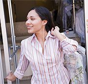 THE end-all, be-all article for at home dry cleaning. Every tip you'd need in your life!