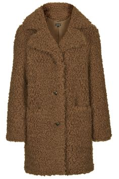 Faux Fur Teddy Coat - New In This Week - New In - Topshop