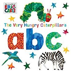 """""""The Very Hungry Caterpillar's ABC"""" Book is perfect for teaching your child the ABC's. Eric Carles' bright, distinctive artwork illustrates fun animals to introduce each letter so your child can associate pictures to letters in this exciting board book. Alphabet Book, Animal Alphabet, Toddler Books, Childrens Books, Chenille Affamée, Baby Book To Read, Baby Books, The Very Hungry Caterpillar Activities, Eric Carle"""