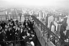 Hoher Besucher: Selbst Staatsbesucher waren am Panoramablick von der Terrasse... Empire State Building, Opera House, Dolores Park, Architecture, Travel, Pictures, Patio, Arquitetura, Viajes