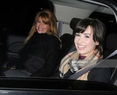Actress, singer Demi Lovato (R) and her mother leave her hotel on January 2009 in New York City. Demi Lovato 2009, Disney Channel, 30th, Nyc, Singer, Actresses, Stock Photos, Pictures, Image