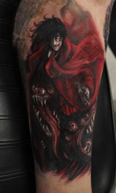 Alucard. This tattooist is super legit, whoever he is.