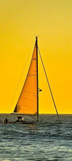Sunset Sailing - ©Liz Vernand (via FineArtAmerica)