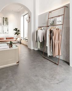 Eclectic boutique store by Bronxes Studio is part of Retail Clothes Store - Commercial interior design, clothes retail store, visualisation and design by Bronxes Studio Retail Interior Design, Boutique Interior Design, Showroom Design, Retail Store Design, Boutique Store Design, Boutique Stores, Retail Boutique, Retail Stores, Studio Interior