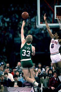 Larry Bird & Julius Erving. #basketball #nba