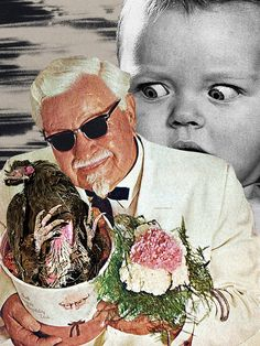 """Valentine's Present"" by Eugenia Loli Portfolio Surrealist Collage, Collage Artists, Eugenia Loli, Valentines Presents, Fabric Stamping, Art For Art Sake, Photomontage, Artsy Fartsy, Light In The Dark"