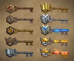 The Key to the Hearthstone Arena - News - Hearthstone: Game Gui, Game Icon, Game Ui Design, Icon Design, Game Concept, Concept Art, Game Props, Game Interface, Game Assets