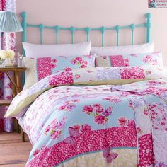 Catherine Lansfield Gypsy Patchwork Duvet Cover Set