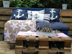 Couch, Throw Pillows, Bed, Furniture, Home Decor, Paradise, Settee, Toss Pillows, Decoration Home