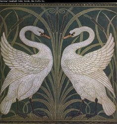 Walter Crane, The Swans, 1875.
