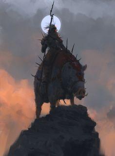 Hog Rider by Rostyslav Zagornov