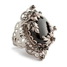 Juicy Couture Filigree Adjustable Ring ($74) found on Polyvore