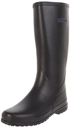 Tretorn Women's Kelly Rain Boot, Black, 37 EU/6 B US - Brought to you by Avarsha.com