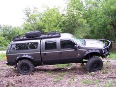 roof rack with shell f250 - Google Search
