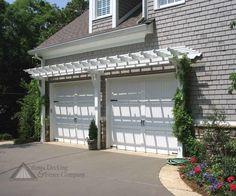 classic cape cod garage doors - Google Search