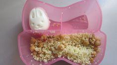 Oeuf lapin et salade de couscous aux pois chiches Popcorn Maker, Kitchen Appliances, Couscous Salad, Chickpeas, Rabbits, Projects, Diy Kitchen Appliances, Home Appliances