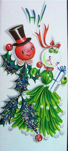 Holly and Mistletoe get together at Christmas. Very awesome, considering this was before inter-racial marriage was even legal!