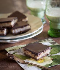 Raw Walnut Cacao Dreamy Bars