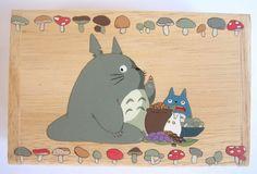 My Neighbor Totoro Hand Paint wood Box Studio Ghibli 14. $14.50, via Etsy.