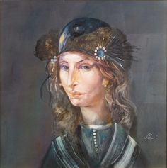Buy online, view images and see past prices for Endre Szász Portrait of Woman with Bird Hat. Invaluable is the world's largest marketplace for art, antiques, and collectibles. Klimt, View Image, Princess Zelda, Hats, Hungary, Mixed Media, Paintings, Women, Google Search